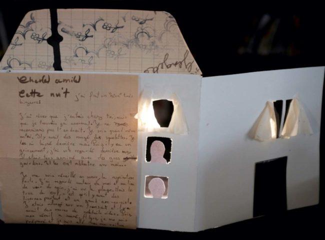 cielairdedire théâtre papier enveloppe